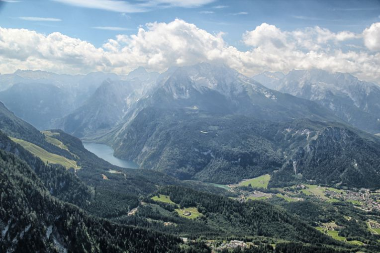 Panorama Konigssee - Eagle`s Nest (3580)